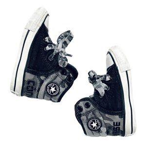 Converse Chuck Taylor Grey Camo High Top Sneakers
